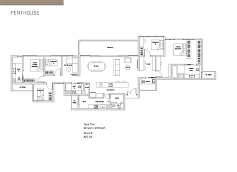 the panorama floor plan penthouse the panorama
