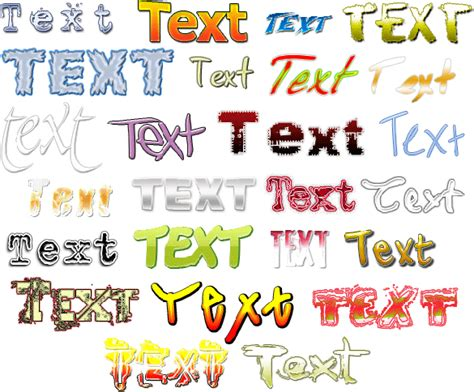 design html text amazing text kit create your own logo and featured