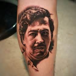 tattoo gangster portrait on instagram