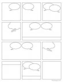 make your own comic book template free comic book printable students can create their own