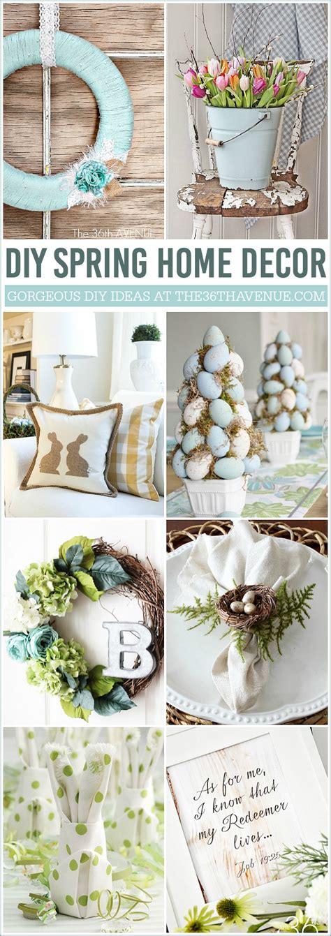 diy spring home decor best diy and recipes link party the 36th avenue