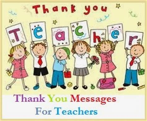 Thank You Letter For A Teachers Leaving School Thank You Messages Teachers