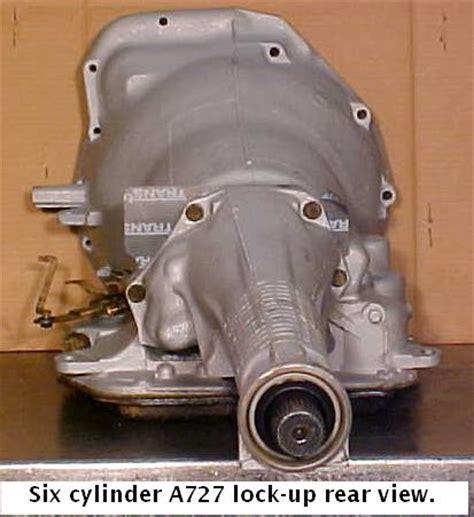 auto hair inspired chrysler 727 transmission