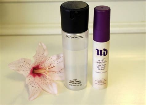 Mac Setting Spray setting sprays mac fix vs decay all nighter