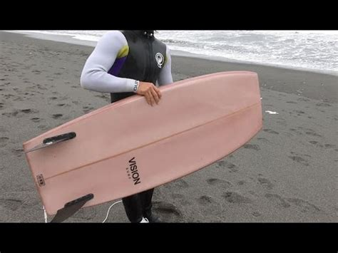 wood  epoxy surfboard