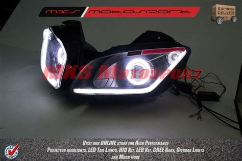 Led Projector Yamaha R15 mxshl146 robtici eye projector headlight yamaha r15 v2