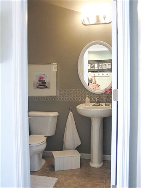 diy bathroom paint ideas remodelaholic free diy modern painted border idea