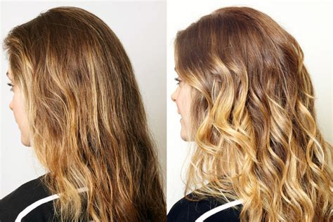 diy balayage results diana tried our diy baby ombre