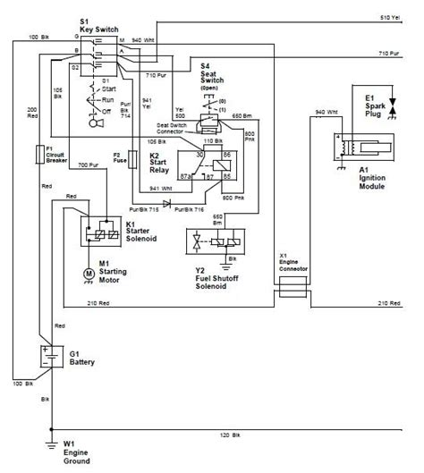 deere stx38 wiring diagram yellow deck deere 160