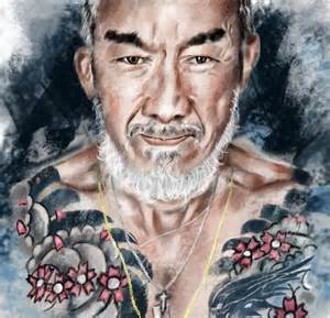 tattoo cu ng yakuza yakuza art print black rain pinterest art search