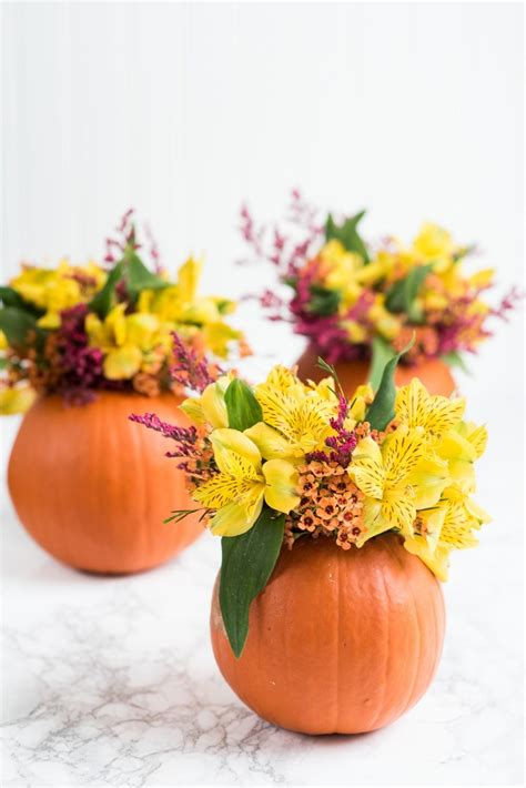 the perfect diy pumpkin seed flower decoration cret 237 que flower arangments top dog in a basket flowers with flower