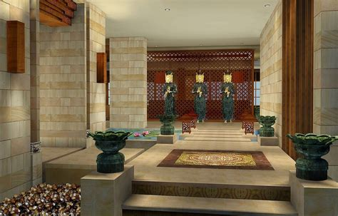 Decoration Ideas For Home Entrance Spa Entrance Decoration Design 3d House Free 3d House Pictures And Wallpaper