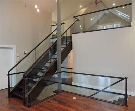 Glass Stair Banisters by Glass Handrail Pictures To Pin On Pinsdaddy