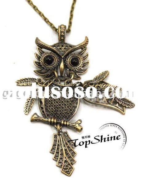 Kalung Fashion Retro Bird Silver Necklace vintage and unique style bird cage charm birdcage