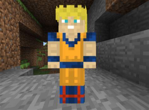 imagenes de goku en minecraft minecraft skin goku ssj by almighal on deviantart