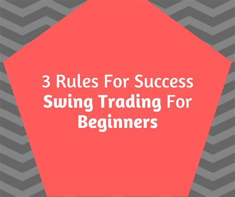 swing trading rules forex strategy