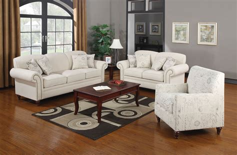 3 piece fabric sofa 3 piece oatmeal linen fabric sofa set