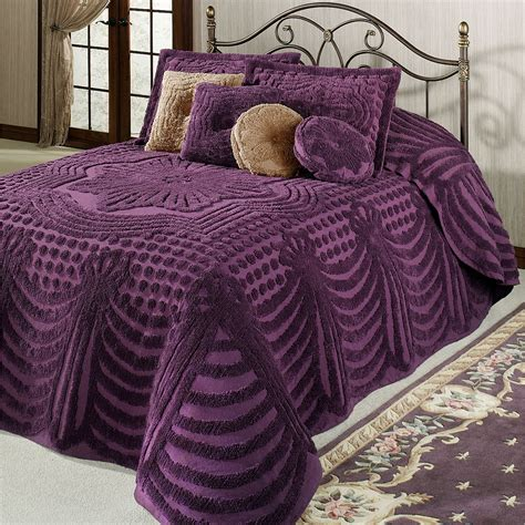 Promenade Cotton Chenille Oversized Bedspreads Oversized Beds