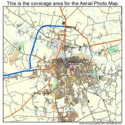 aerial photography map of greenville nc carolina