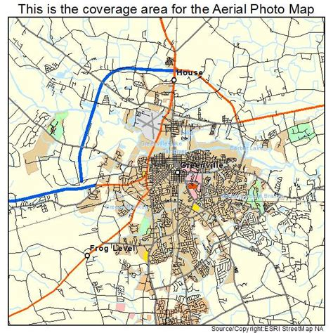 map of greenville carolina aerial photography map of greenville nc carolina