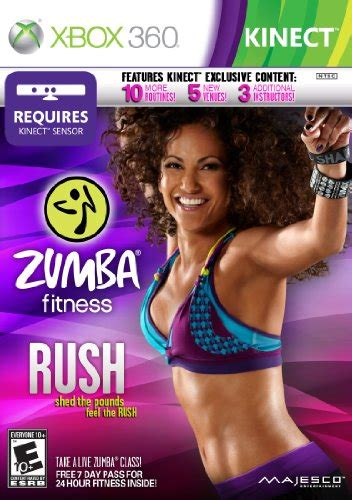 tutorial zumba fitness kinect kinect games zumba fitness rush sale at 36 99 on amazon
