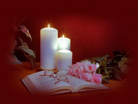 imagenes de velas rojas encendidas luz magica velas