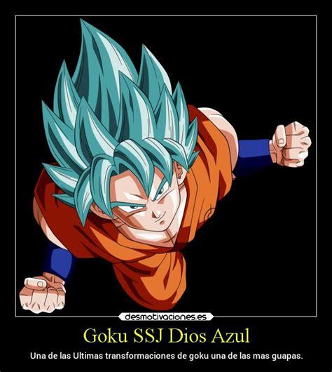 imagenes goku ssj dios azul im 225 genes y carteles de anime pag 12547 desmotivaciones