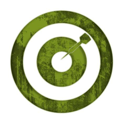 green wallpaper target bulls eye icon 045243 187 icons etc