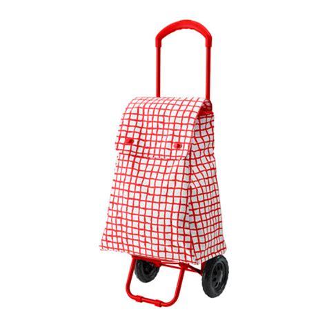 ikea shopping bag knalla shopping bag with wheels red white ikea