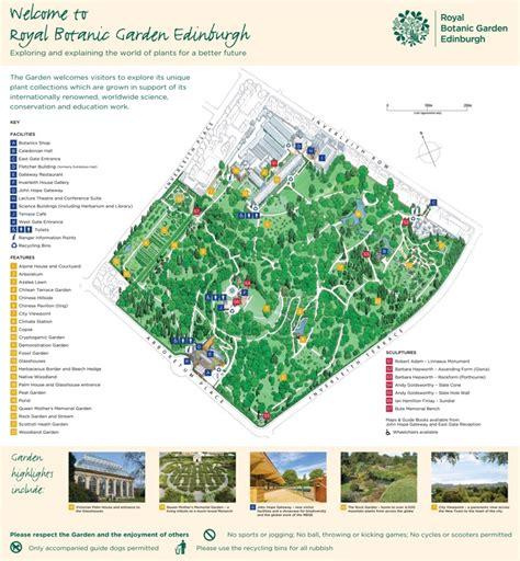 sydney royal botanic gardens map edinburgh royal botanic garden map