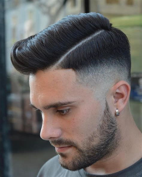 top 15 amazing short hairstyles for men boys 2018 side puff hairstyle for boys girly hairstyle inspiration