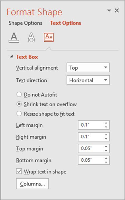 format margin artikel mengesetkan jidar untuk teks dalam kotak teks dan bentuk