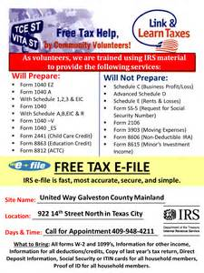 vita volunteer income tax assistance united way