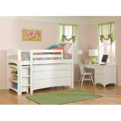 loft bed accessories how do i get windsor low loft bed in white with essex
