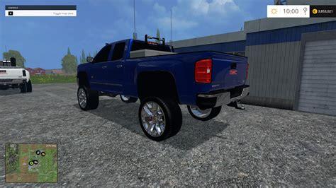 gmc lifted  fs farming simulator   mod