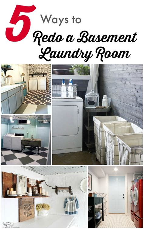 how to redo your room 5 ways to redo a basement laundry room infarrantly creative