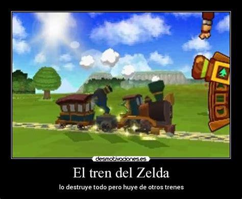 imagenes chistosas de zelda el tren del zelda desmotivaciones