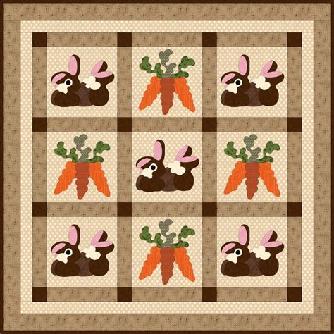 Bunny Quilt Patterns Free free pattern friday bunny quilts baby knits more