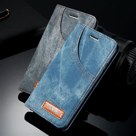 Iphone 7 7 Plus Chelsea Vintage The Blues Cover Hardcase floveme for iphone 7 7 plus retro denim cloth wallet phone cases for iphone 7 card slot