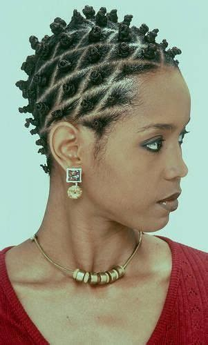 hairstyles for short hair knots bantu knots hairstyle inspiration