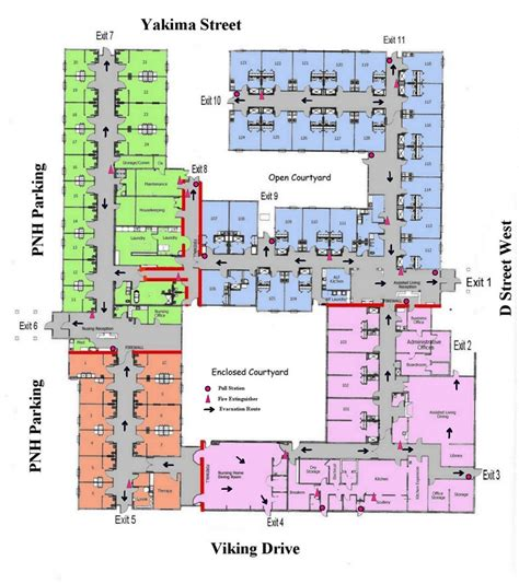 nursing home layout design recommended retirement home floor plans new home plans