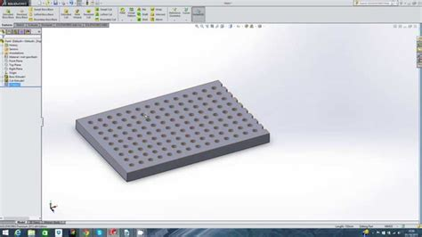 linear pattern solidworks youtube solidworks extrude linear pattern youtube