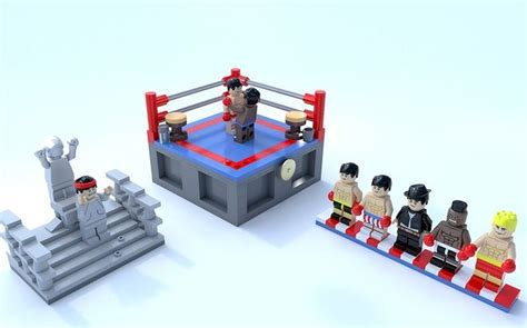 lego vignette tutorial based on the iconic rocky movies these lego vignette s