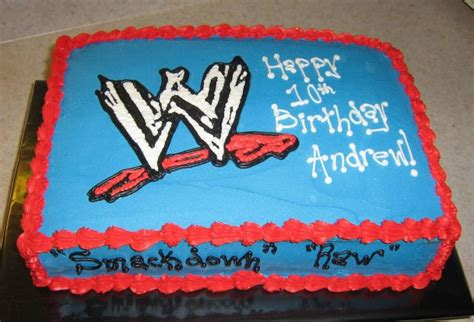 Home Decorating Forum Wwe Cake Cakecentral Com