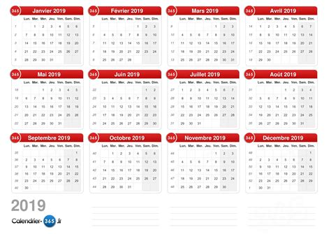 Calendrier 2019 Luxembourg Calendrier 2019