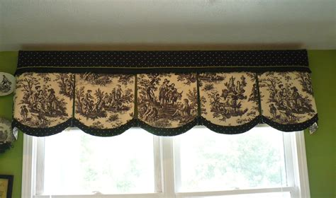 Black And White Toile Kitchen Curtains by Black Toile Kitchen Curtains Soozone