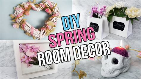 diy tumblr room decor 2016 spring copper floral princess diy spring room decor tumblr inspired youtube