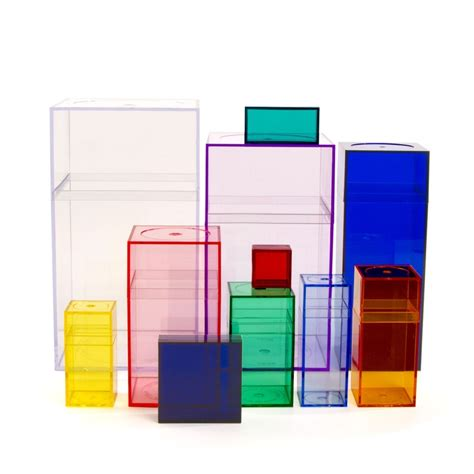 amac boxes acrylic box set for room to hold supplies