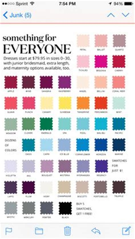 david s bridal color swatches 1000 ideas about davids bridal bridesmaid dresses on