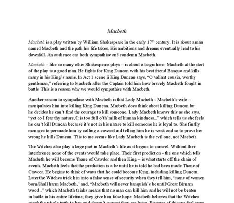 violence themes in macbeth essays on violence in macbeth macbeth quotes and essay